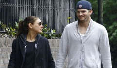 Ashton Kutcher And Mila Kunis Spotted Out In London